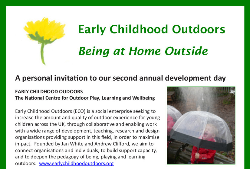 early childhood outdoors