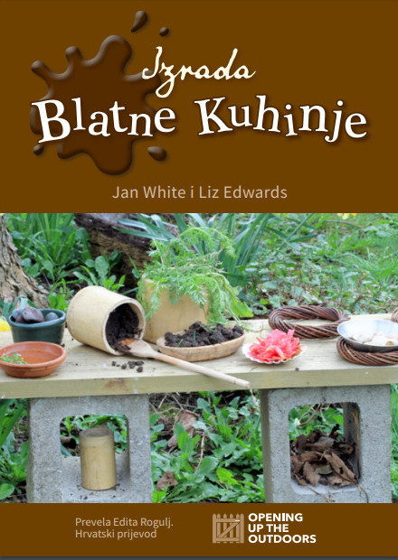 Mud Kitchen book cover, Croatian translation