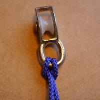 pulley attached to rope