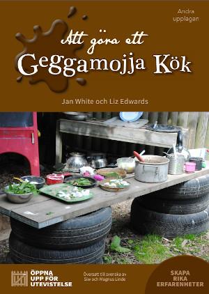 Making a Mud Kitchen book cover - Swedish translation