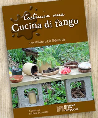 Making a Mud Kitchen book cover - Italian translation