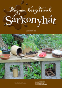 Making a Mud Kitchen book cover - Hungarian translation