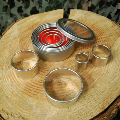 Circular Cookie Cutter Set