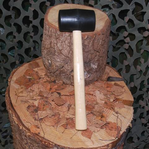 Mallet with Hardwood Shaft