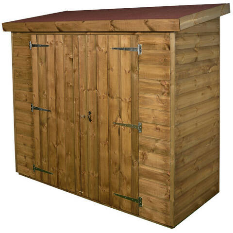 Narrow Storage Shed