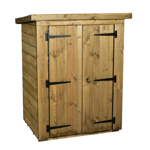 Small Lockable Storage Shed