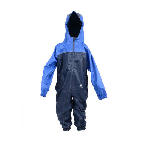 Dry Kids 2 Colour All-in-One Rainsuit