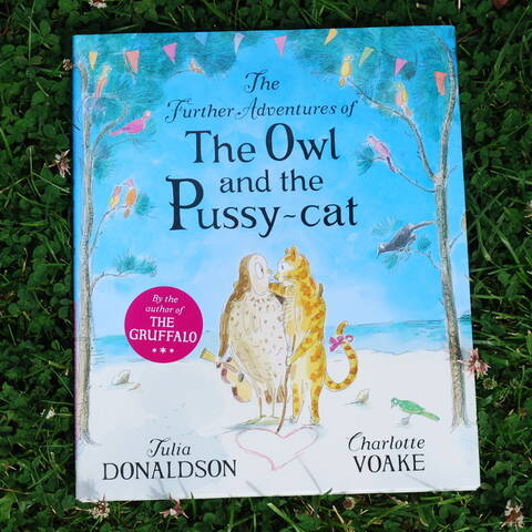 *SALE* The Further Adventures of the Owl and the Pussycat - Julia Donaldson