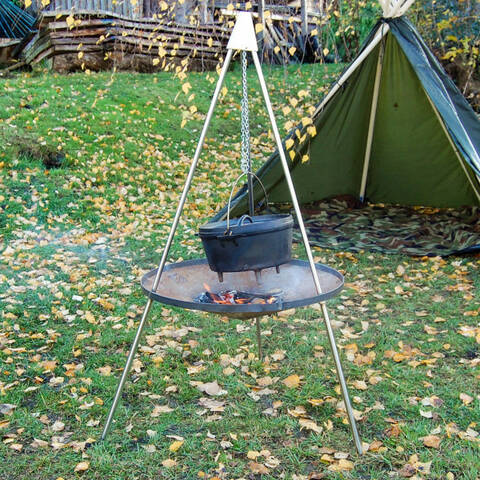 Tripod & Chains for Portable Fire Pit