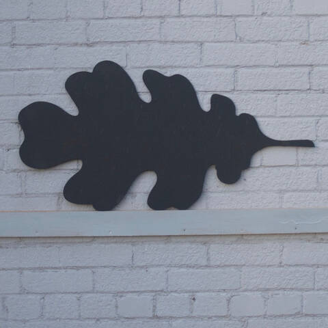 Chalkboard - Oak Leaf