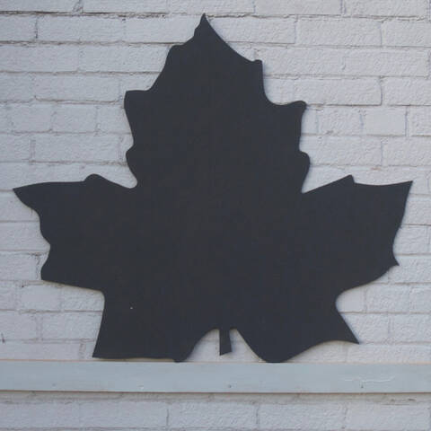 Chalkboard - Maple Leaf