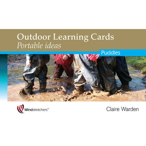 Outdoor Learning Cards Portable Ideas - Puddles