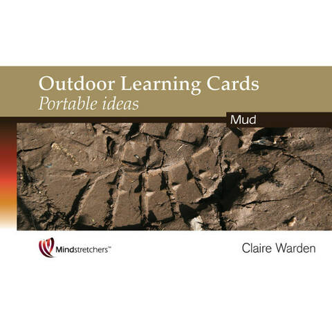 Outdoor Learning Cards Portable Ideas - Mud