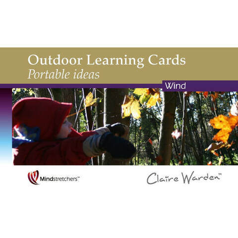 Outdoor Learning Cards Portable Ideas - Wind