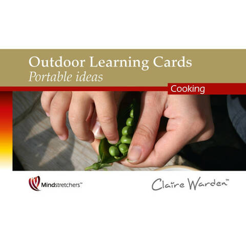 Outdoor Learning Cards Portable Ideas - Cooking