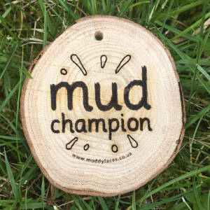 Mud Champion medal - all our mud photo winners got one of these special medals to celebrate their contribution to the further promotion of the joys of mud!