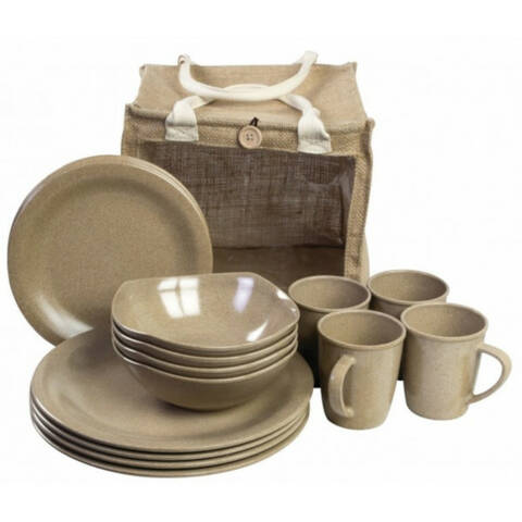 Eco Friendly Picnic Set - 16 Piece