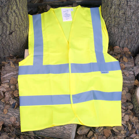 Adult High Visibility Waistcoat