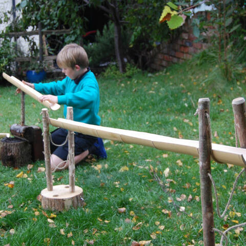 Bamboo Chutes - Construction Set