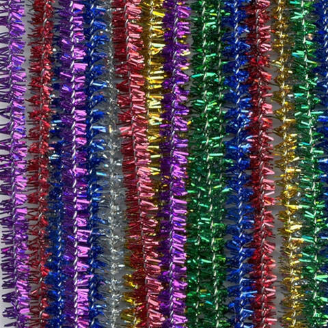 Chenille Stems - Pack of 100 (Glitter)