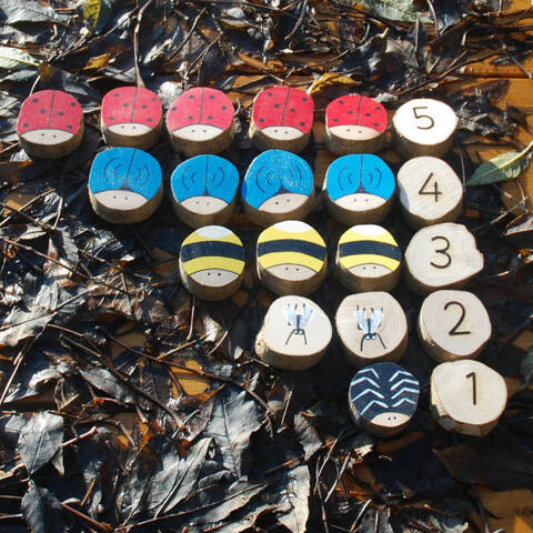 Counting Set 1-5 - Minibeasts