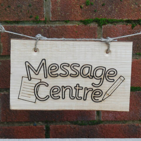 Deluxe Sign - Message Centre