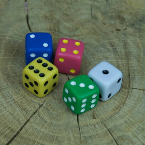 Dot Dice - Pack of 100