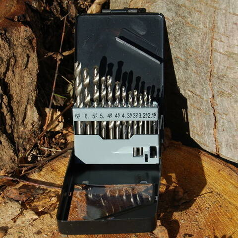 Drill Bits - Set of 13 (Kids at Work)