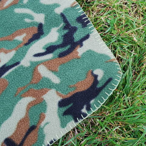 Fleece Blanket - Camo