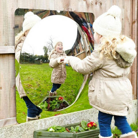Giant Dome Mirrors