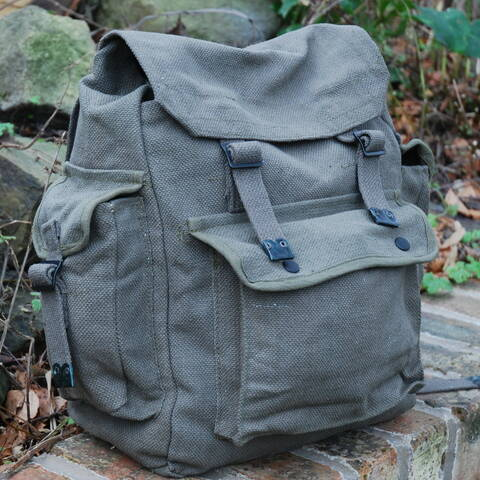 Large Web Backpack with Pockets