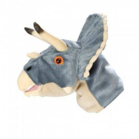 NHM Triceratops Hand Puppet