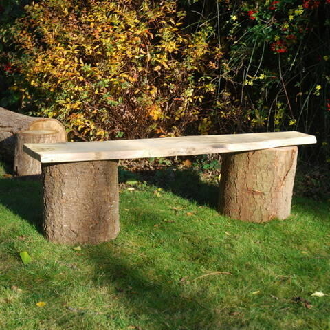 Rustic Movable Benches