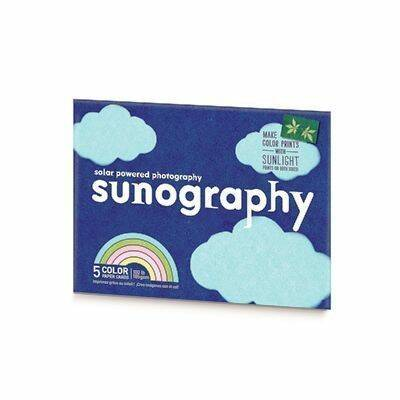 Sunography Colour Cards - 5 cards