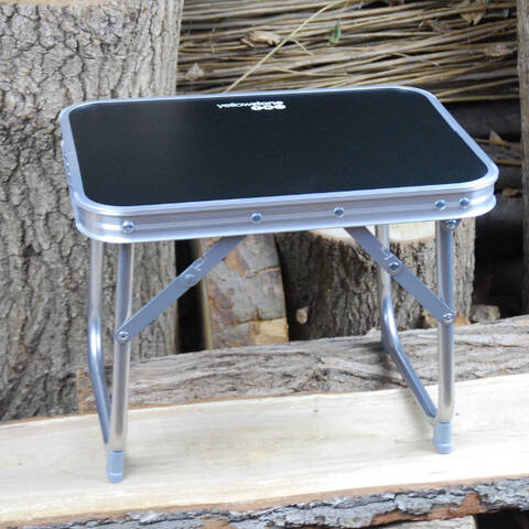 Low Level Folding Table with Carry Bag