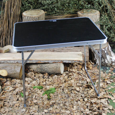 Single Folding Table with Carry Bag