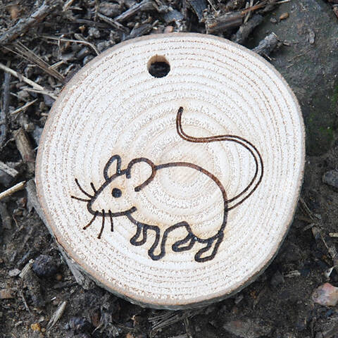 Trail Disc - Wildlife - Mouse