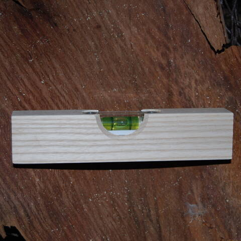 Wooden Spirit Level (Kids at Work)